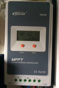 EPEver Tracer series MPPT solar charge controller for lead acid batteries. Model 1210A 2210A 3210A 4210A