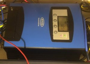 Ring RSCDC30 DCCharge30 DC-DC battery charger with MPPT Solar charge controller installed in a self build motorhome