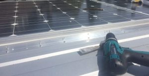 solar panels on self build motorhome