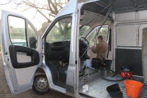 Citroen Relay, Fiat Ducato, Peugeot Boxer Bulkhead removed