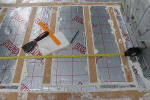 Citroen Relay, Fiat Ducato, Peugeot Boxer Self Build Motorhome: Floor batten locating rear