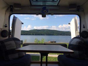 Planning a Motorhome Road Trip - Romanian Campsite