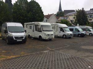 Planning a Motorhome Road Trip - Camper Stops