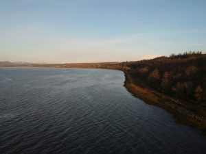 Beauly Firth, Inverness-Shire. Highland Road Trip around Scotland