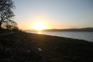 Sunrise, Beauly Firth. Inverness-Shire.