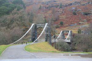Bridge of Oich, River Oich. Highlands