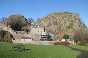 Dumbarton Castle. Road Trip around Scotland