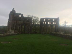 Dundrennan Abbey, near Kirkcudbright. Road Trip around Scotland