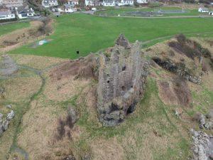 Dunure Castle, South Ayrshire. Road Trip around Scotland
