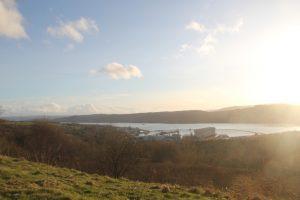 Gare Loch, Rosneath peninsula. Road Trip around Scotland