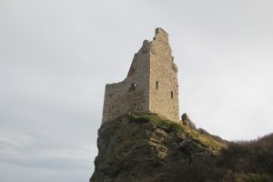 Greenan Castle, Ayr. Road Trip around Scotland.