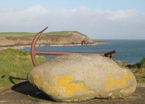 Anchor, Isle of Whithorn. Road Trip around Scotland