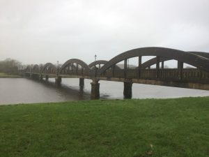 Bridge across the River Dee, Kirkcudbright. Road Trip around Scotland