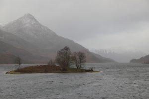 Loch Leven North Side. Highland Road Trip around Scotland