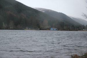 Loch Oich. Highland Road Trip around Scotland