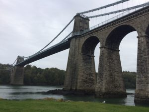 Menai Bridge (1826), Anglesey