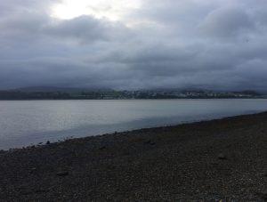 View across the Menai Strait, Road Trip around North Wales