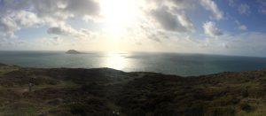 Stunning view from Mynydd Mawr, Llyn Peninsula.