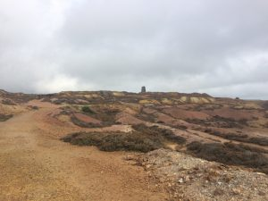 Parys Mountain, Anglesey. Road Trip around North Wales