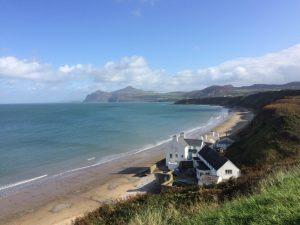 Porthdinllaen Beach, Llŷn Peninsula, Wales