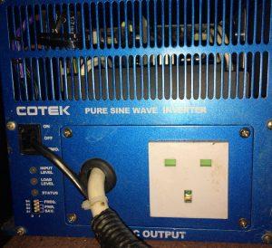 Energy saving Cotek pure sine wave inverter