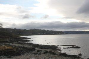 View over Loch Long, Rosneath peninsula. Road Trip around Scotland