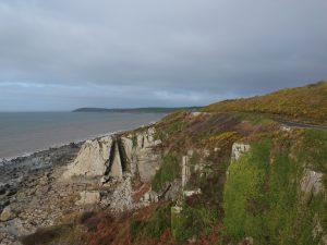 View towards Girvan on A77  South Ayrshire Road Trip around Scotland