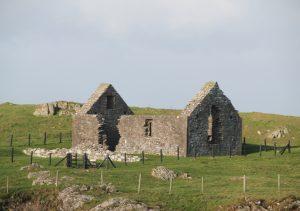 St Ninian's Chapel, Isle of Whithorn. Road Trip around Scotland