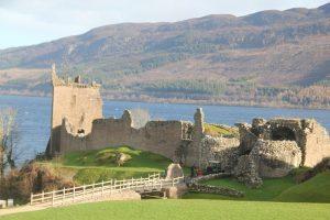 Urquhart Castle, Loch Ness. Highland Road Trip around Scotland