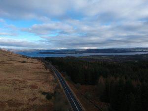 View over Loch Lomond from Ridge