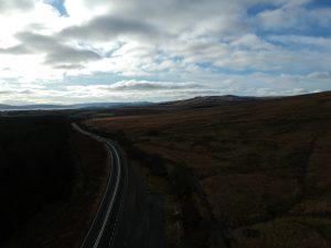 Looking towards Rosneath peninsula. Road Trip around Scotland