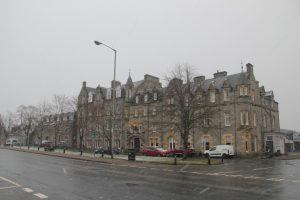 Hotel at Grantown-on-Spey, Cairngorms, Scotland