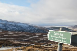 Old Military Road, A939. Cairngorms. Scotland