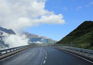 Self Build campervan road trip - Großglockner Pass