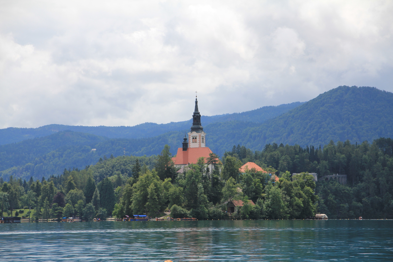 Bled Island, Visit to Slovenia.