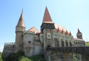 Corvin Castle, Hunedoara, Romania. European Road Trip