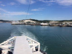 Our European Road Trip in our self build camper van had begun! Dover Calais Ferry Crossing