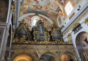 The organ in ljubljana cathedral