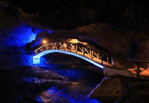Illuminated Bridge, Peștera Bolii