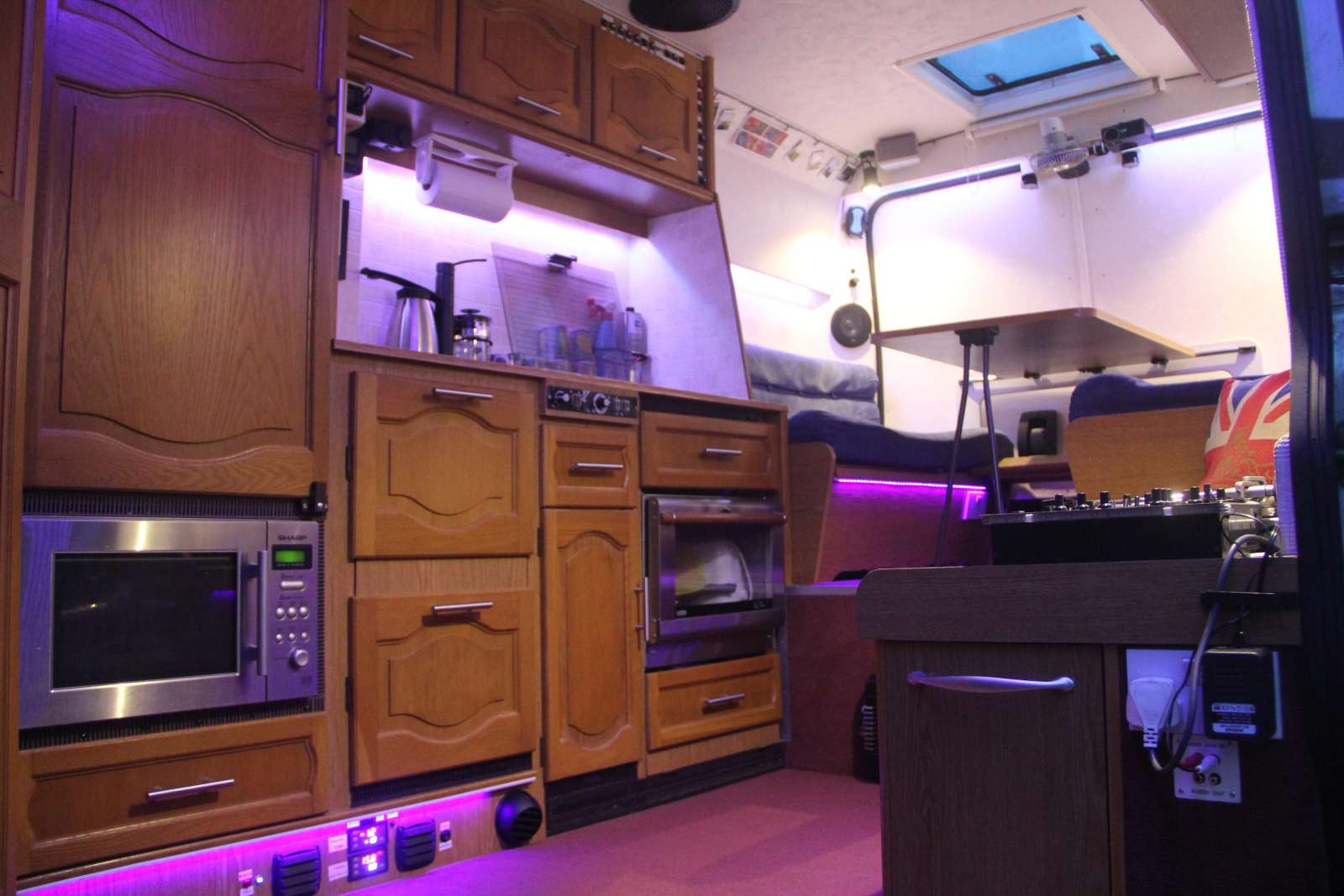 Completed Self Build Motorhome