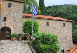 Monastery of Emialon, Dimitsana, Greece. Perfect stop on our Greek Roadtrip!