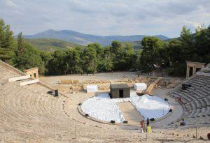 Epidaurus, Greece by Motorhome