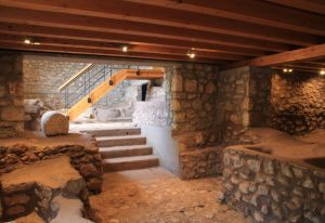 Inside Dimitsana Water power Museum
