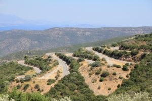 stunning winding road. Great for driving on a road trip!