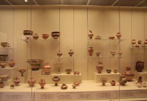 Inside Archeological Museum of Mycenae