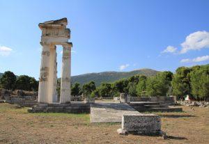 Ruins of Epidaurus, Greece.