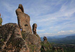 Rocks of Belogradchik Fortress, Bulgaria. European Motorhome Road Trip