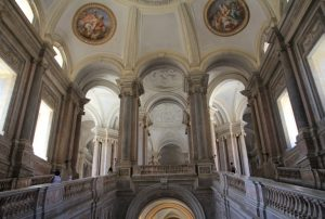 Royal Palace of Caserta (Reggia di Caserta) Grand Staircase. A must see on any Motorhome Road Trip!