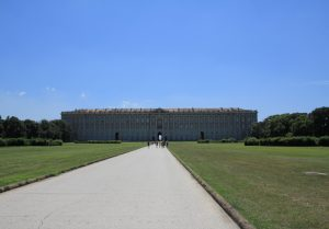Caserta Palace (Reggia di Caserta) viewed from the garden. A must on any road trip around Italy.