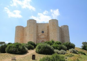 Castel del Monte in Italy. A perfect stop on any European motorhome holiday!